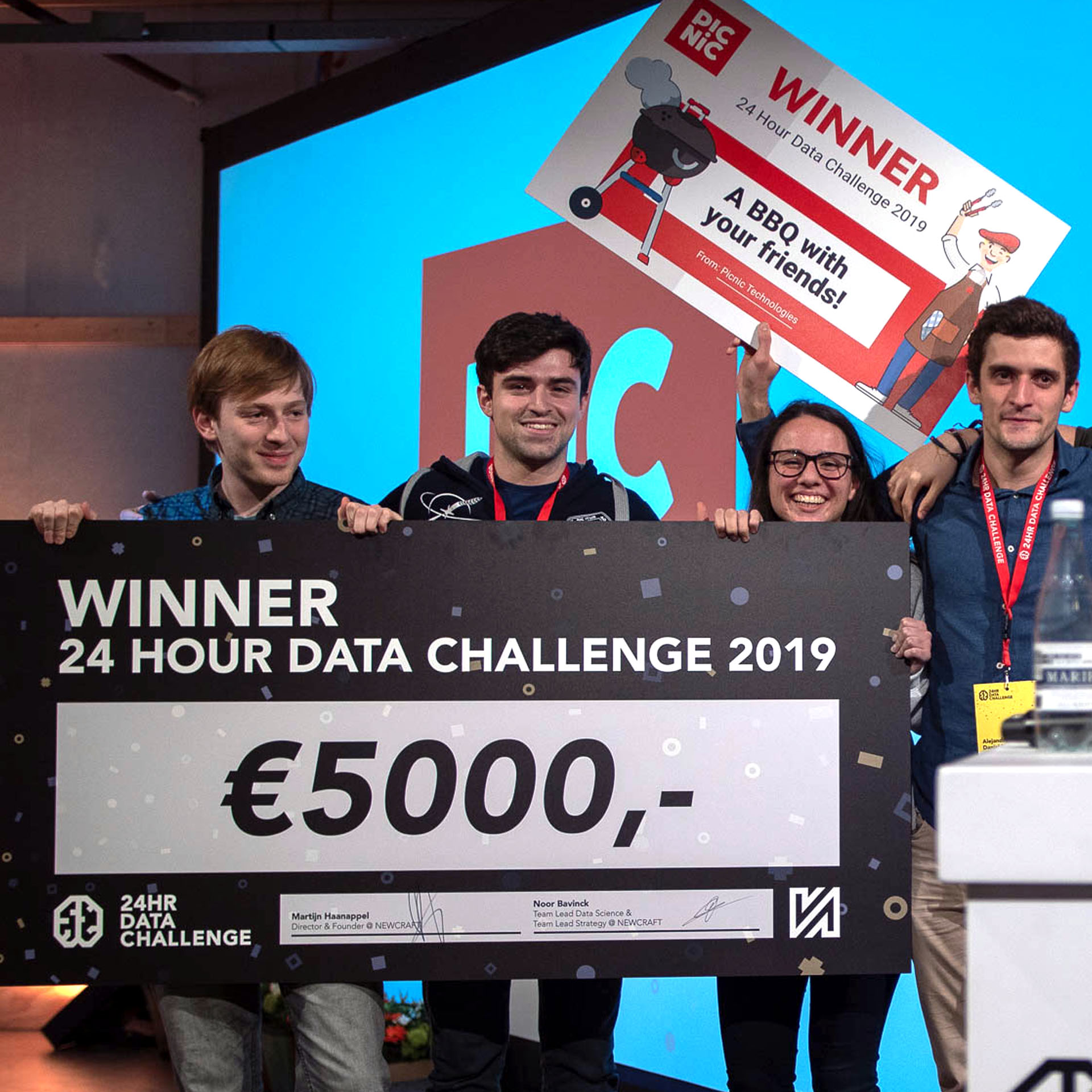 24 HR Data Challenge Winner 2019